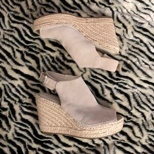 Women's Kenneth Cole Olivia Suede Espadrille Wedge